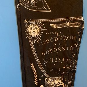 Ouija board leggings(fits jr.10-adult 6)M